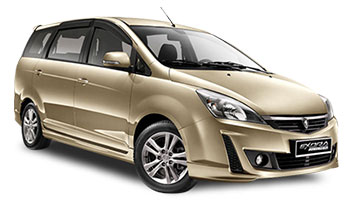 Proton Exora MPV Car Rental Services