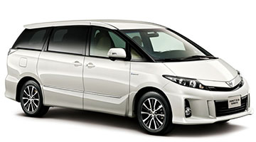 Toyota Estima MPV Car Rental Services