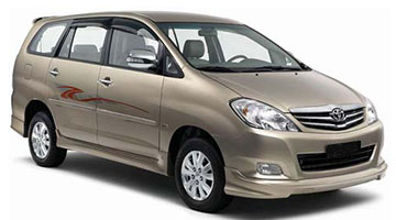Toyota Innova MPV Car Rental Services